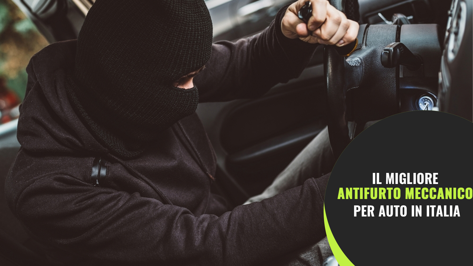 antifurto meccanico per auto defender car security