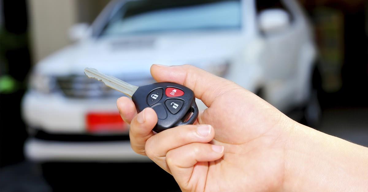 Chiave di allarme auto
