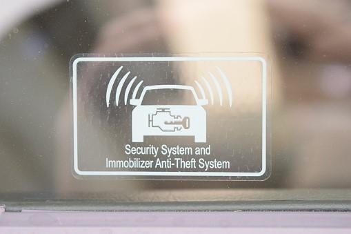 Centrale di allarme per auto
